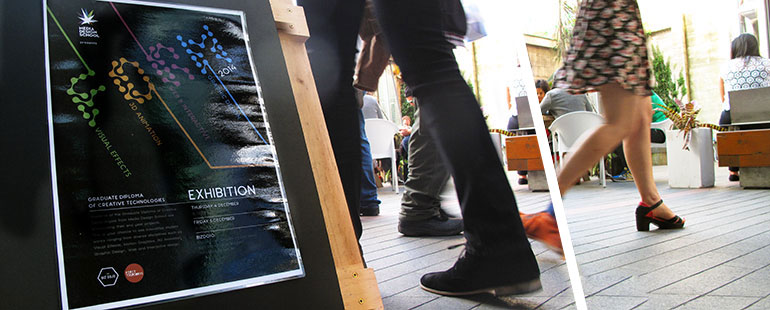 Form – Media Design School exhibition