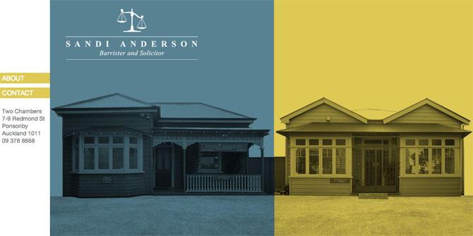 Sandi Anderson website